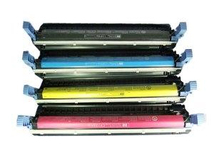 TINTA TONER CARTDRIDGE HP C9730A C9731A C9732A C9733A BLACK YELLOW CYAN MAGENTA COMPATIBLE REMANUFACTURE NON ORIGINAL BAGUS